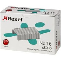 Rexel No16 Staples 6mm 06010 (PK5000)