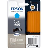 Epson 405 (T05G240) Cyan Original DURABrite Ultra Standard Capacity Ink Cartridge (Suitcase)