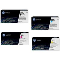Original Multipack HP LaserJet Enterprise MFP M775dn Printer Toner Cartridges (4 Pack) -CE340A