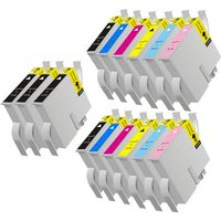 Compatible Multipack Epson Stylus Photo 960 Printer Ink Cartridges (15 Pack) -C13T03314010