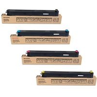 Original Multipack Sharp MX-3114N Printer Toner Cartridges (4 Pack) -MX23GTBA