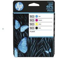 HP 903 Black and Colour Original Standard Capacity Ink Cartridge Multipack (6ZC73AE)