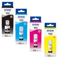 Epson 102BK/Y Full Set Original Inks (4 Pack)