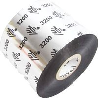 Zebra 03200BK06045 Original Wax/Resin Printer Ribbon 3200 (60mm x 450m)
