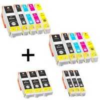 Compatible Multipack Epson Expression Home XP-7100 Printer Ink Cartridges (16 Pack) -C13T33514010