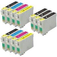 Compatible Multipack Epson WorkForce Pro WF-7840DTWF Printer Ink Cartridges (11 Pack) -C13T05H14010