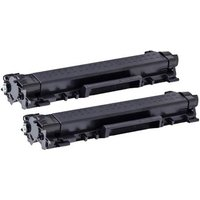 Compatible Multipack Brother HL-L2370DW XL Printer Toner Cartridges (2 Pack) -TN2420