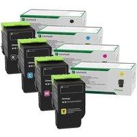 Image of Original Multipack Lexmark CS521dn Printer Toner Cartridges (4 Pack) -78C2XK0