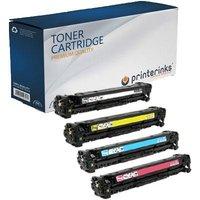 Compatible Multipack HP Color LaserJet MFP 178nw Printer Toner Cartridges (4 Pack) -W2072A