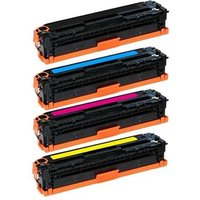 Compatible Multipack HP LaserJet Enterprise MFP M775dn Printer Toner Cartridges (4 Pack) -CE340A