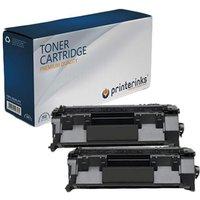 Compatible Multipack HP LaserJet P2055dn Printer Toner Cartridges (2 Pack) -CE505A
