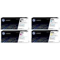 Original Multipack HP Colour LaserJet Enterprise MFP M578dn Printer Toner Cartridges (4 Pack) -W2120X