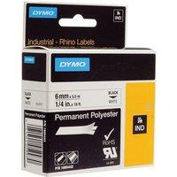 Dymo 1805442 Original Label Tape (6mm x 5.5m) Black On White