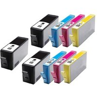 Compatible Multipack HP DeskJet 3524 Printer Ink Cartridges (9 Pack) -CN684EE