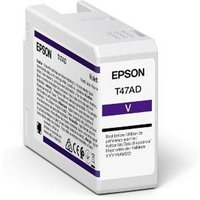 Epson T47AD (T47AD00) Violet Original UltraChrome Ink Cartridge (50ml)