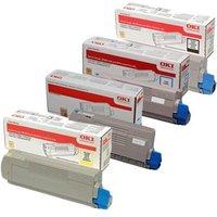 Original Multipack OKI MC363dnw Printer Toner Cartridges (4 Pack) -46508712