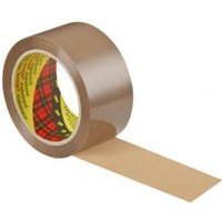 Scotch 309 Low Noise Buff Packaging Tape 48mmx66m PK6