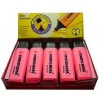 Stabilo Boss Highlighters Chisel Tip 2-5mm Line Pink PK10
