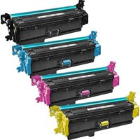 Compatible Multipack HP Color LaserJet Enterprise Flow MFP M577f Printer Toner Cartridges (4 Pack) -CF360X