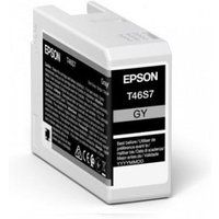 Epson T46S7 (T46S700) Grey Original UltraChrome Ink Cartridge (25ml)