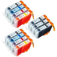 Compatible Multipack Canon Pixma MP760 Printer Ink Cartridges (11 Pack) -4705A002