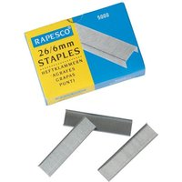 Rapesco 26/6mm Staples Box of 5000