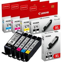 Original Multipack Canon Pixma TS6000 Printer Ink Cartridges (5 Pack) -0331C001