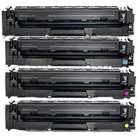 Compatible Multipack HP 203A Standard Capacity Full Set Toner Cartridges (4 Pack)