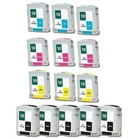Compatible Multipack HP 2000cn Printer Ink Cartridges (14 Pack) -C4844A