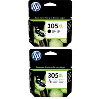 Original Multipack HP DeskJet Plus 4120 All-in-One Printer Ink Cartridges (2 Pack) -3YM63AE