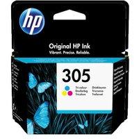 HP 305 Tri-Colour Original Standard Capacity Ink Cartridge (3YM60AE)