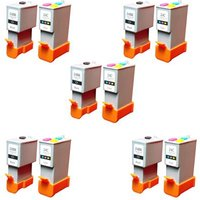 Compatible Multipack Canon Pixma MP110 Printer Ink Cartridges (10 Pack) -6881A002