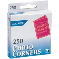 Self Adhesive Vinyl Photo Corners Clear PK250