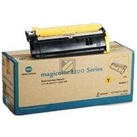 Konica Minolta 171-0471-002 Original Yellow Laser Toner Cartridge