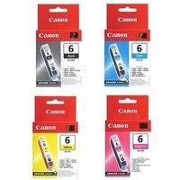 Original Multipack Canon Pixma MP750 Printer Ink Cartridges (4 Pack) -4705A002
