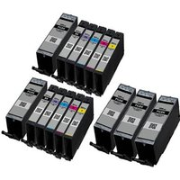 Compatible Multipack Canon Pixma TS8300 Printer Ink Cartridges (15 Pack) -1998C001