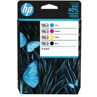 HP 963 Black and Colour Original Standard Capacity Ink Cartridge Multipack (6ZC70AE)