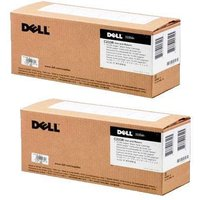 Dell 593-10838 Black Original High Capacity Toners Twin Pack (2 Pack)