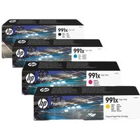 Original Multipack HP PageWide Pro MFP 777z Printer Ink Cartridges (4 Pack) -M0K02AE