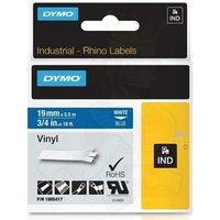 Dymo 1805417 Original Label Tape (19mmx5.5m) White On Blue