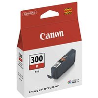 Canon PFI-300R Red Original Ink Cartridge