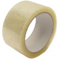 Value Clear Packaging Tape 48mmx66m PK6