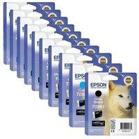 Original Multipack Epson Stylus Photo R2880 Printer Ink Cartridges (9 Pack) -C13T09694010