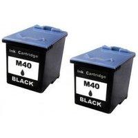 Compatible Multipack Samsung SF-345 Printer Ink Cartridges (2 Pack) -M40