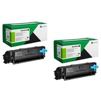 Original Multipack Lexmark B3340dw Printer Toner Cartridges (2 Pack) -B342000
