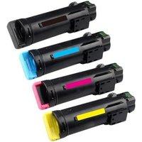 Compatible Multipack Dell S2825cdn Printer Toner Cartridges (4 Pack) -