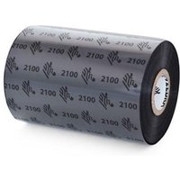 Zebra 02100BK04045 Original Wax Printer Ribbon 2100 (40mm x 450m)
