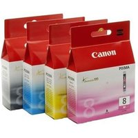 Original Multipack Canon Pixma MP600 Printer Ink Cartridges (4 Pack) -0620B001