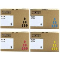 Ricoh 841784/87 Full Set Original Toner Cartridges (4 Pack)