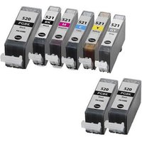 Compatible Multipack Canon Pixma MP980 Printer Ink Cartridges (8 Pack) -2933B001